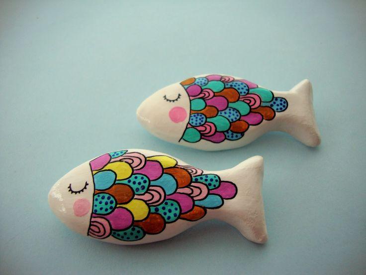 17 mejores ideas sobre pez de papel en pinterest - Pasta para modelar manualidades ...