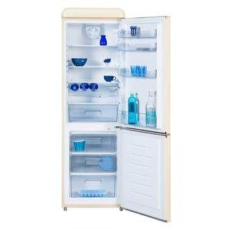 Réfrigérateur-congélateur  noir 300 litres environ - marque Le germania. Réfrigérateur-congélateur à louer à Haguenau (67500) - www.placedelaloc.com