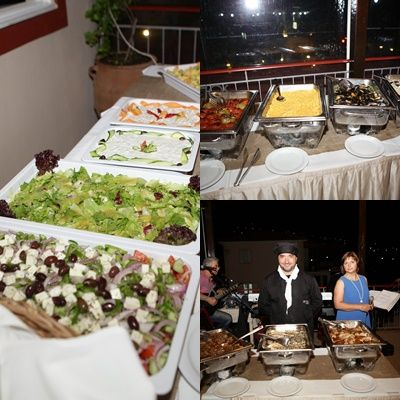 Food is very important! Delicious food by Mythos Catering #weddingdinner #weddingcatering #weddingreception