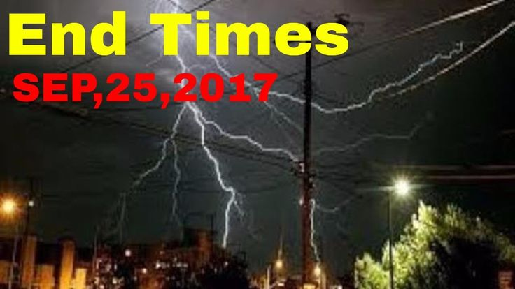 END TIMES SIGNS: LATEST EVENTS AND NEWS (SEP 25, 2017) HURRICANE MARIA N...