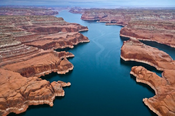 Les plus beaux lacs du monde - Lac powell - USA