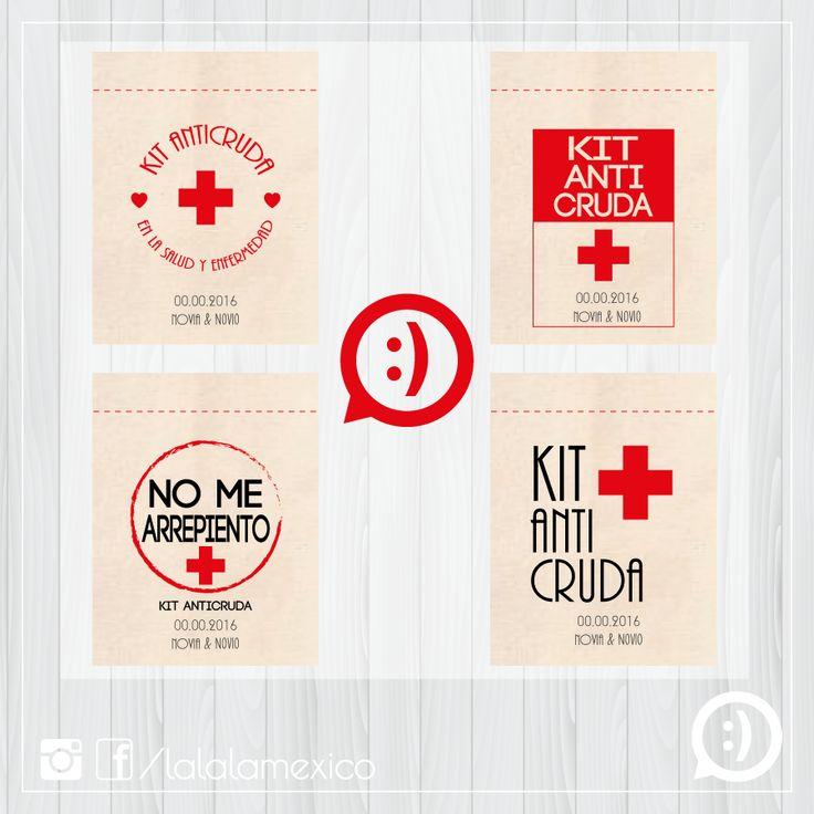 KIT ANTICRUDA Diseños para costalito de manta mini para kit anticruda Síguenos en FB www.facebook.com/lalalamexico