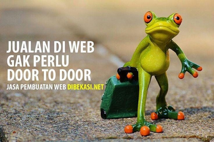 Kalo jualan via web kita gak perlu nawarin door to door,  Jasa pembuatan website instan murah, profile perusahaan, WA/call 0815-4636-700, http://www.dibekasi.net