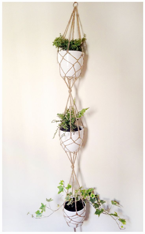 DIY Vertical Plant Hanger Tutorial