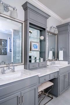 Master Bathroom Remodel Transitional Bathroom New
