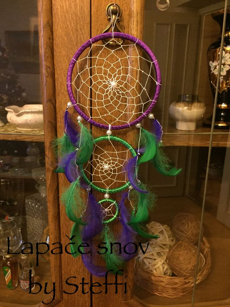 #green#purple#three#rings#withlove#slovakia#for#twochildren#dreamcatcher#