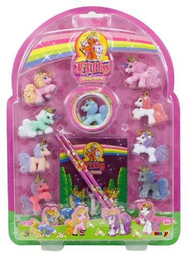 Smoby – 105952751002 – Figurine – Filly Unicorn Set Collector   Your #1 Source for Toys and Games