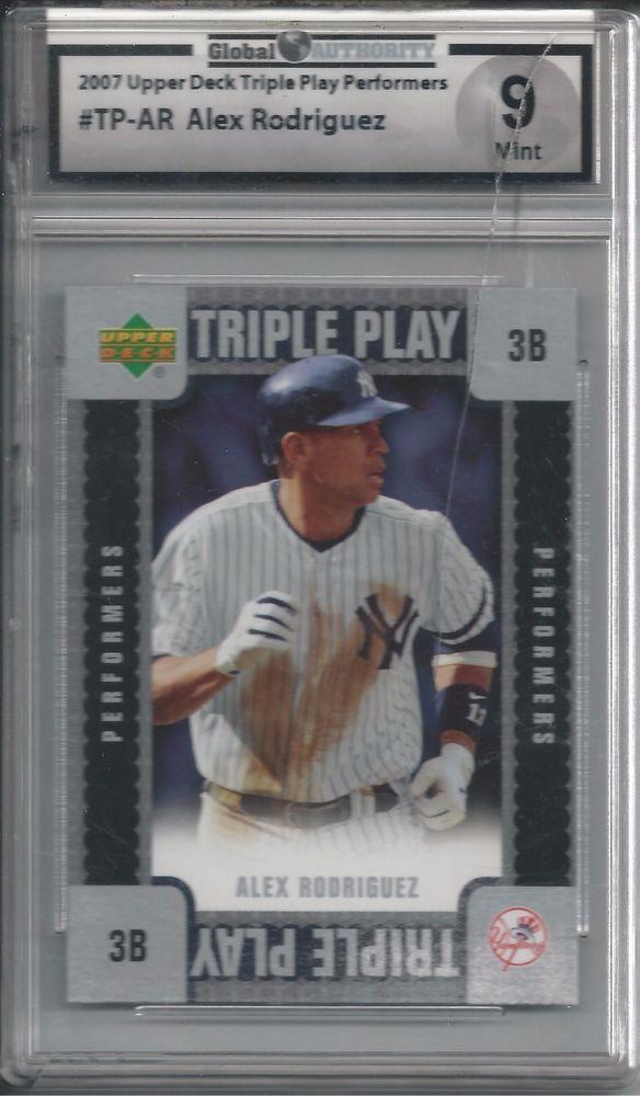 2007 Alex Rodriquez GAI Mint 9 Baseball Card MLB  #NewYorkYankees