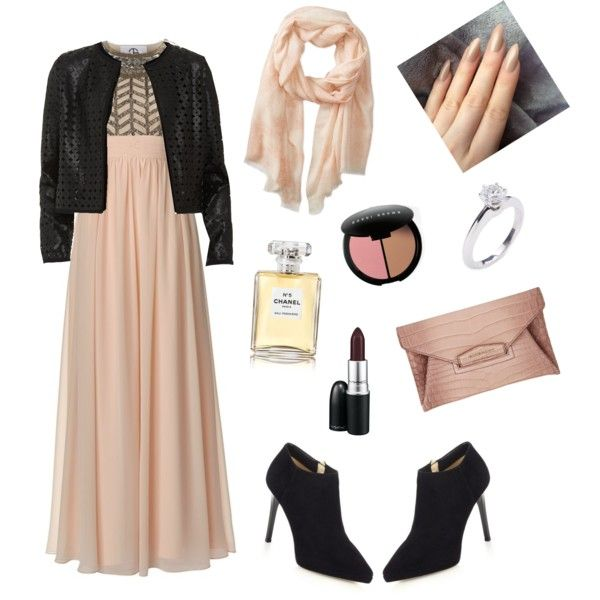Sophisticated Night by nadia-miranti on Polyvore featuring polyvore fashion style JS Collections Maglie I Blues Jimmy Choo Givenchy Tiffany & Co. Badgley Mischka Bobbi Brown Cosmetics Chanel MAC Cosmetics