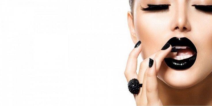 """Makyajda Yeni Trend """" Siyah Ruj """" – Peki En İyi Siyah Ruj Markaları Nelerdir ?"""