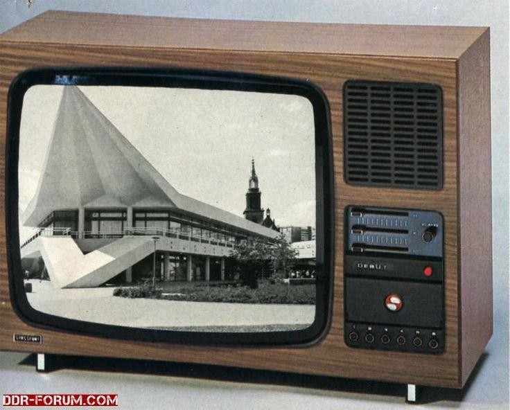 """DDR Fernseher """" Debüt"""""""