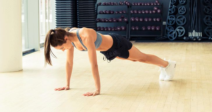 Kayla Itsine's Crazy-Good Ab and Arm Workout - The Coveteur