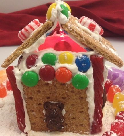 Make a STEM Gingerbread House to Light Up the Night! My elementary students enjoy tinkering with batteries, lights, motors, and circuits in popular engineering toys like Roominate or in DIY items such as a homemade clock (last month we powered a clock with a lemon!). However, at the end of these tinkering periods, there is disappointment when their creations must remain in school. So in time for the holidays, we created sweet treats that light up.