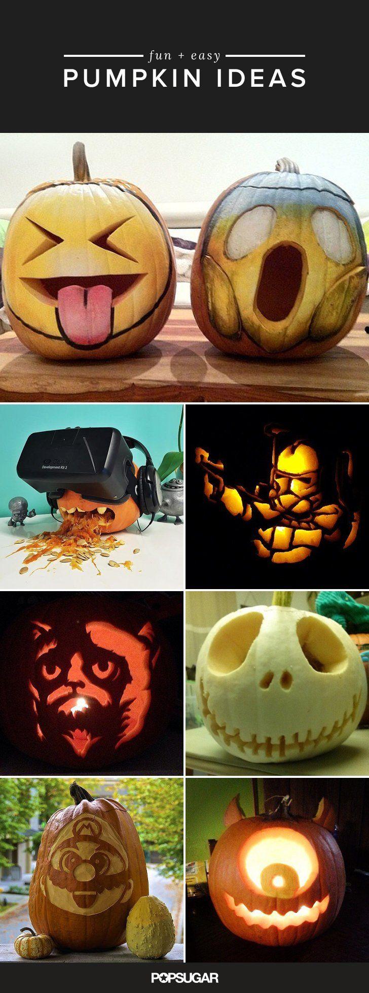 Best 25+ Creative pumpkins ideas on Pinterest | Painted pumpkins ...