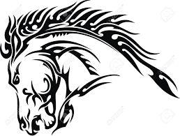 Risultati immagini per disegni di teste di cavallo