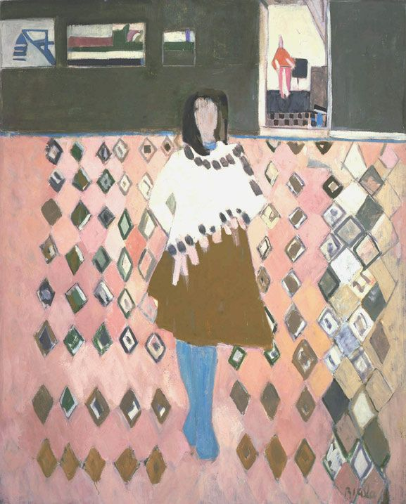 Janice Biala, Jeune Femme, c.1970 Oil on canvas 64 x 51 inches