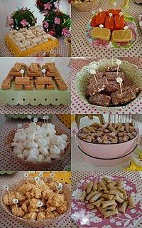 Mesa de doces da Fazenda