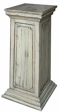 Wood Pedestal Plant Stand - Foter