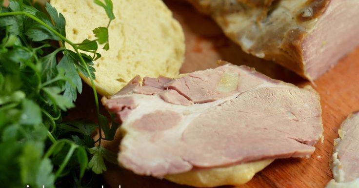 niebo na talerzu: Soczyste mięso z piekarnika. Domowa wędlina do kanapek. Pieczona karkówka z solanki