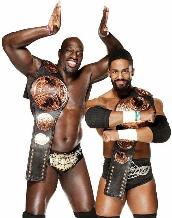 TITUS O'NEIL AND DARREN YOUNG THE PRIME TIME PLAYERS