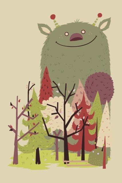 cute monster by Greg Abbot