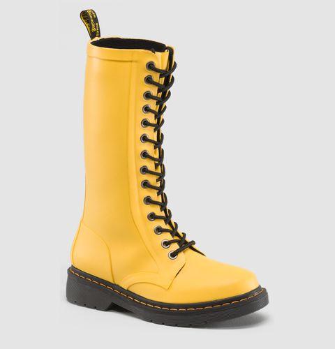 Doc Marten Yellow wellington boots. Yes please!