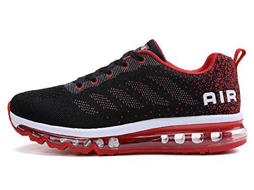 tqgold Zapatillas de Deportes Hombre Mujer Zapatos Deportivos Running Zapatillas Para Correr (Negro Rojo,39 EU) #tqgold #Zapatillas #Deportes #Hombre #Mujer #Zapatos #Deportivos #Running #Para #Correr #(Negro #Rojo,