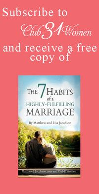 How to Truly Encourage the Spiritual Life of Your Husband - Club 31 Women