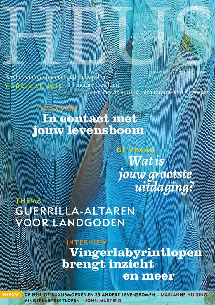 HEUS is een heus magazine over oude wijsheden, nieuwe inzichten en leven met de natuur. Een uitgave van A3 boeken