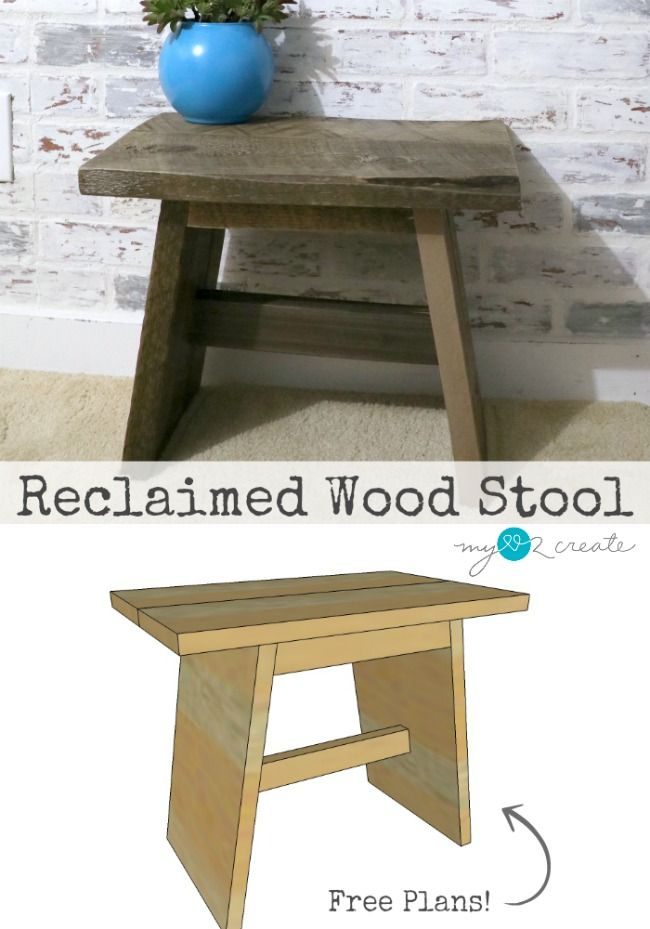 DIY Plans to build your own Reclaimed Wood Stool at MyLove2Create. 559 best COFFEE TABLE  TABLE  ETC  images on Pinterest
