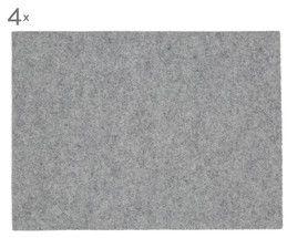 Wollfilz-Tischsets Leandra, 4 Stück