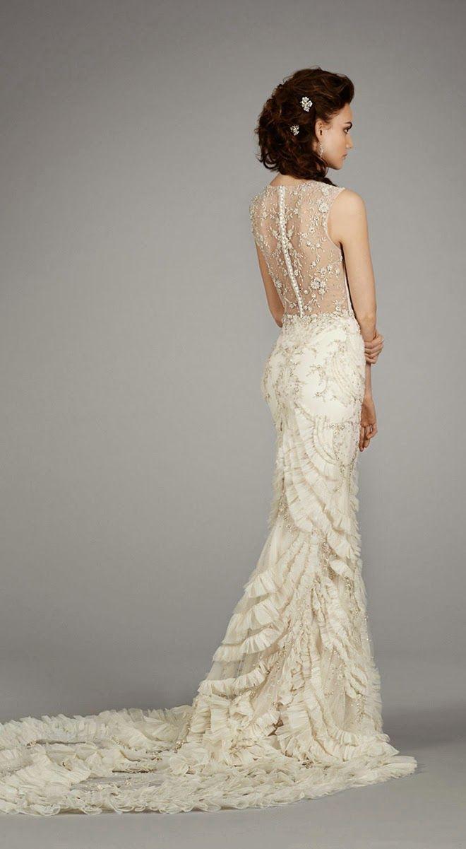 Lazaro Fall 2014 Bridal Collection | bellethemagazine.com