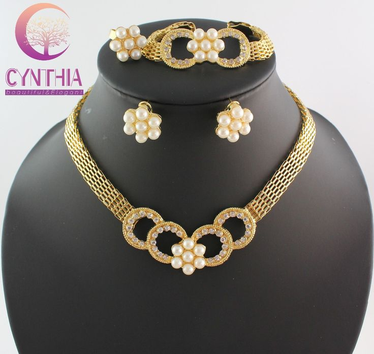 Gold Bridesmaid Jewelry Sets