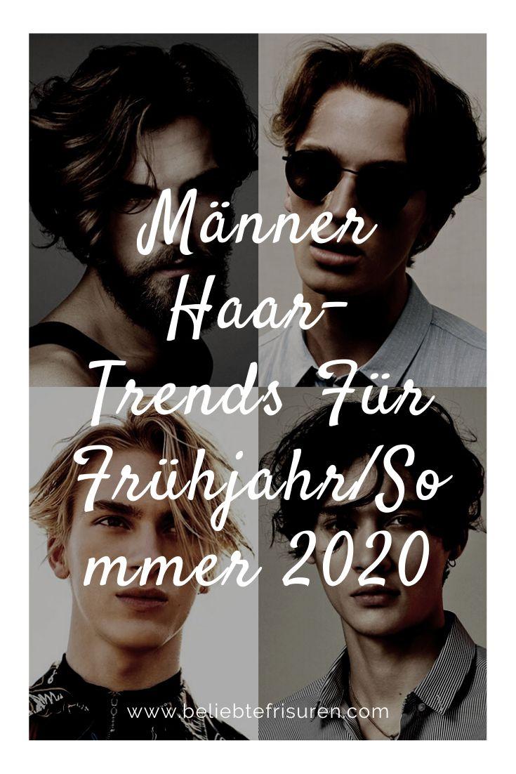 Männer Haar-Trends Für Frühjahr/Sommer 2020 in 2020 ...
