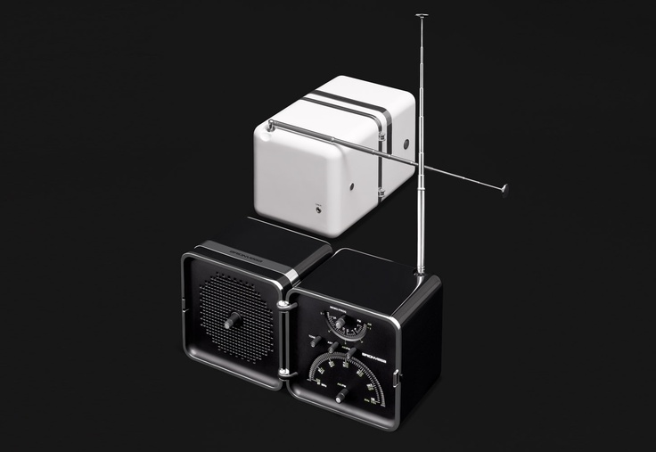 #RadioCubo #Nero #Notte by #Brionvega Collection .  It #sounds #different.
