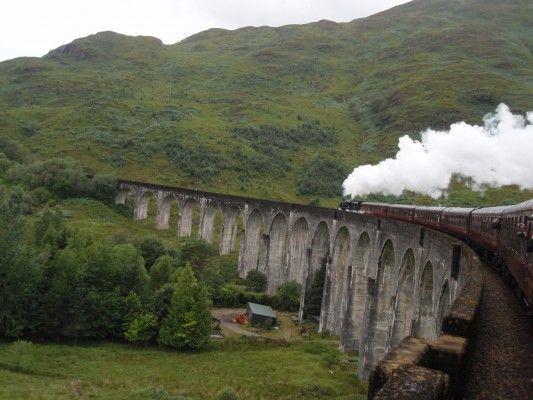 Jacobite Steam Train, Scotland