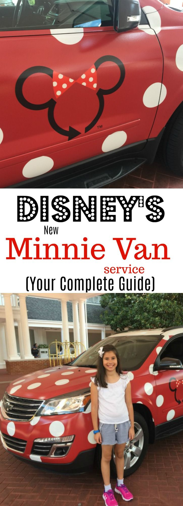 Disney's Minnie Van Service at Walt Disney World - our experience (and your questions answered)!  Disney World Tips and Tricks!