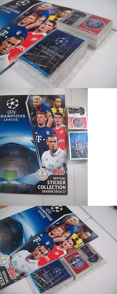Sports Stickers Sets and Albums 141755: Album Uefa Champions League 2016 2017 Topps Complete Set -> BUY IT NOW ONLY: $40 on eBay!