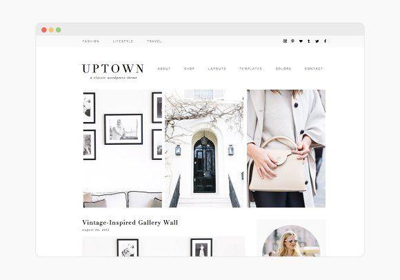 Uptown - Wordpress Theme by 17th Avenue on @creativemarket