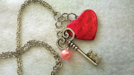 Hey, I found this really awesome Etsy listing at https://www.etsy.com/listing/263084860/red-heart-necklace-wife-gift-girlfriend