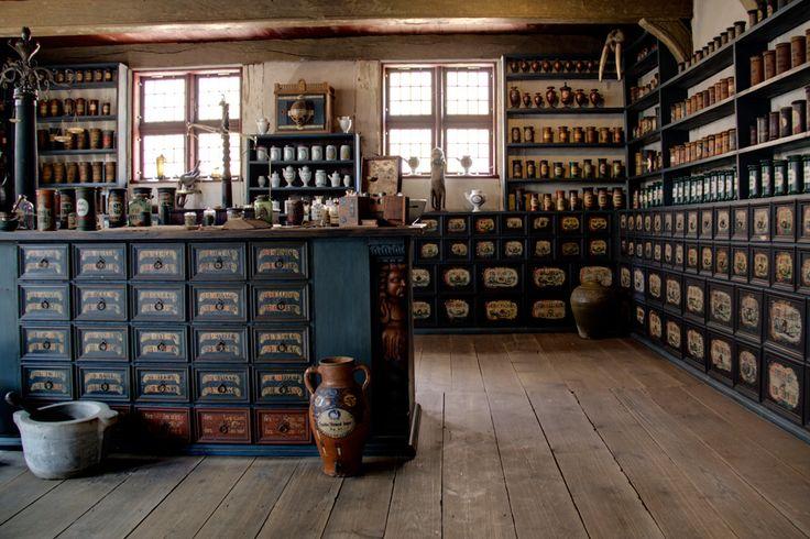 die gute alte Apotheke von Harry Knecht