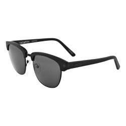 Sabre Vacation Sunglasses - Matte Black Black Metal/Grey Lens - Sabre - Brands: Black Metal