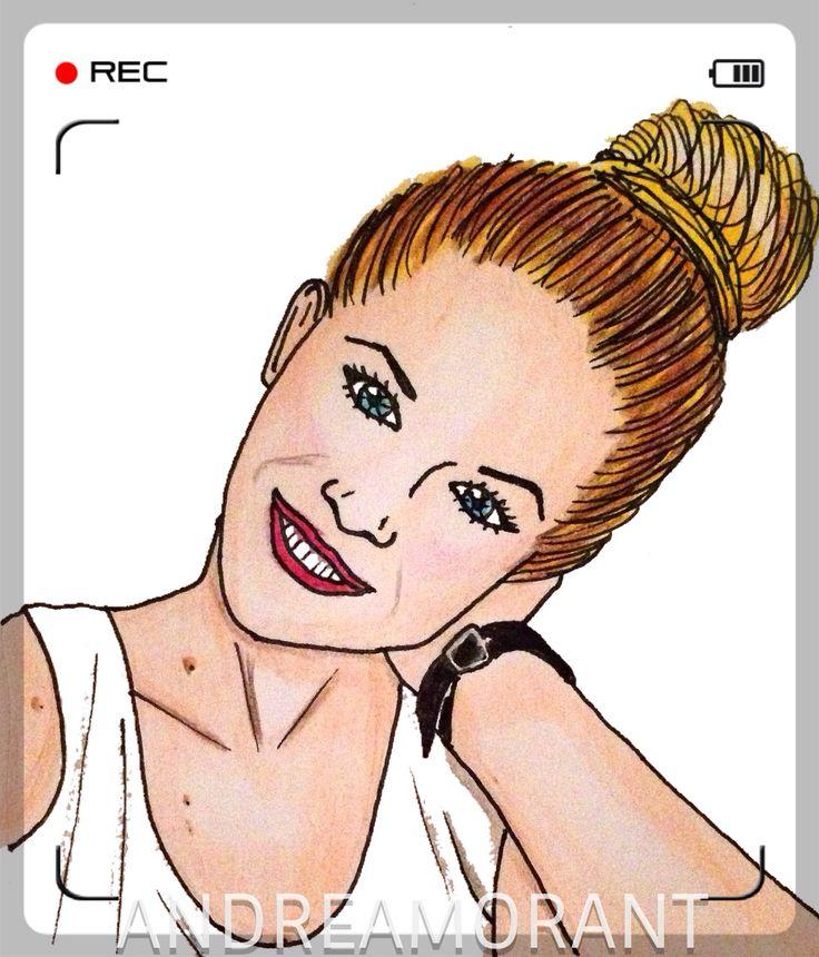 Youtuber Vik Guirao illustration