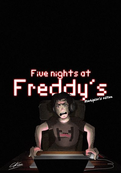 GIF - Five nights at Freddy's Markiplier's Edition by CKibe<- MY GOD THIS IS REALLY AWESOME O-O