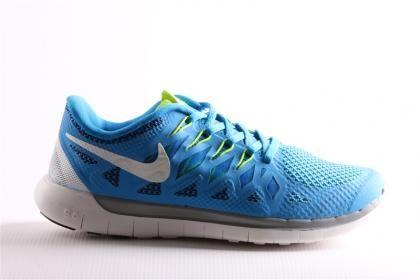 Nike Erkek Mavi Free 5.5 Koşu Yürüyüş Esnek Phylon Taban Günlük Spor Ayakkabı