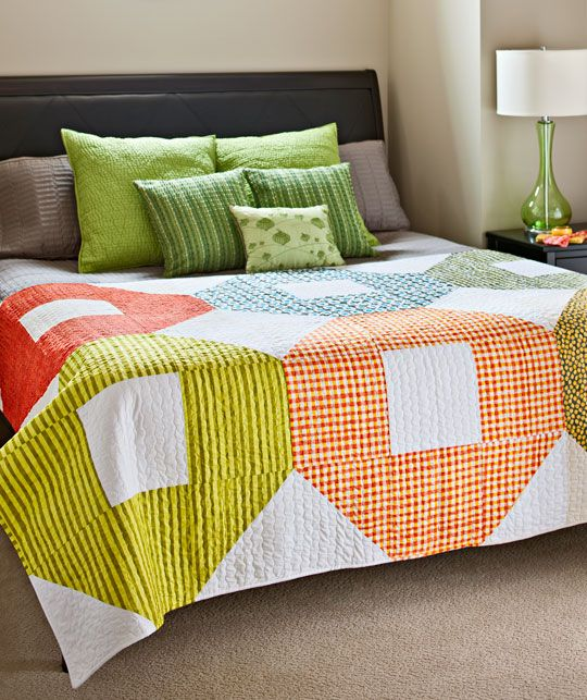 Shoo Fly quilt -- Designed for American Patchwork and Quilting