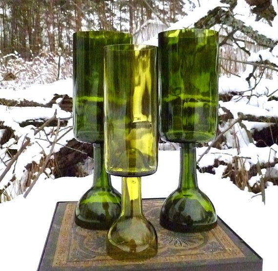 17 best ideas about wine bottle candle holder on pinterest. Black Bedroom Furniture Sets. Home Design Ideas