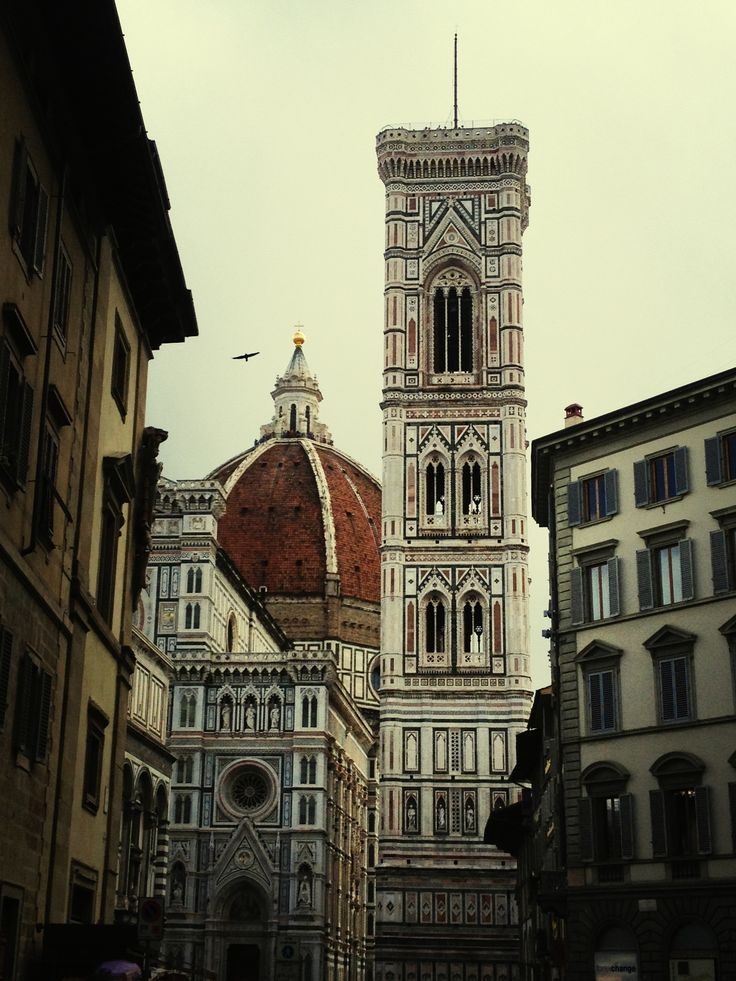 The Duomo and the Campanile di Giotto, Firenze