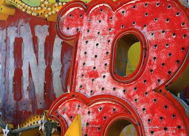 Red - this looks like the boneyard in las vegas.