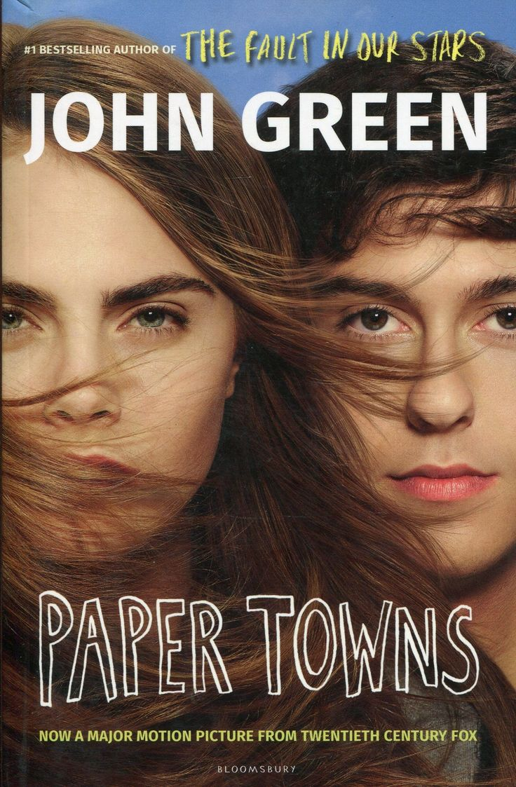 Paper Towns by John Green--another one of his captivating love stories will lead you on the complicated trail to find Margo Roth Spiegelman after she runs away leaving a trail of clues for Quentin to follow...if he can find her in time.